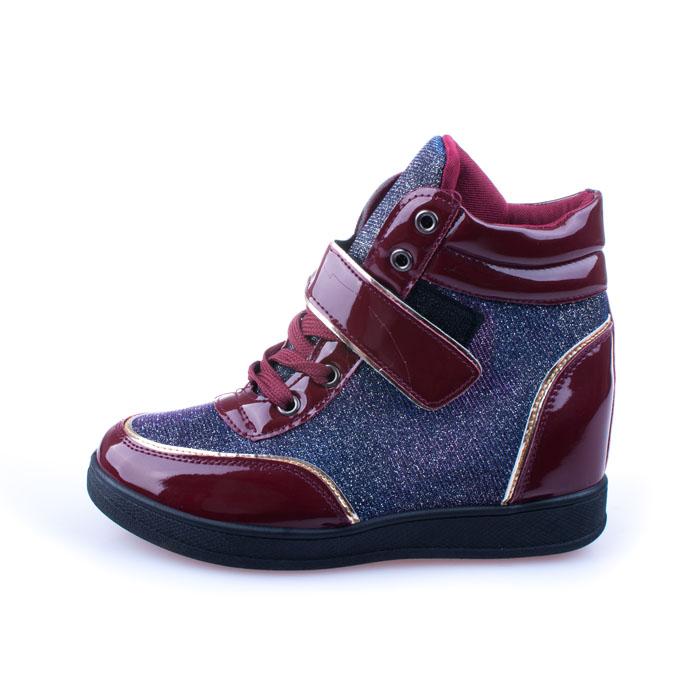 Sneakers dama Norma 1 grena