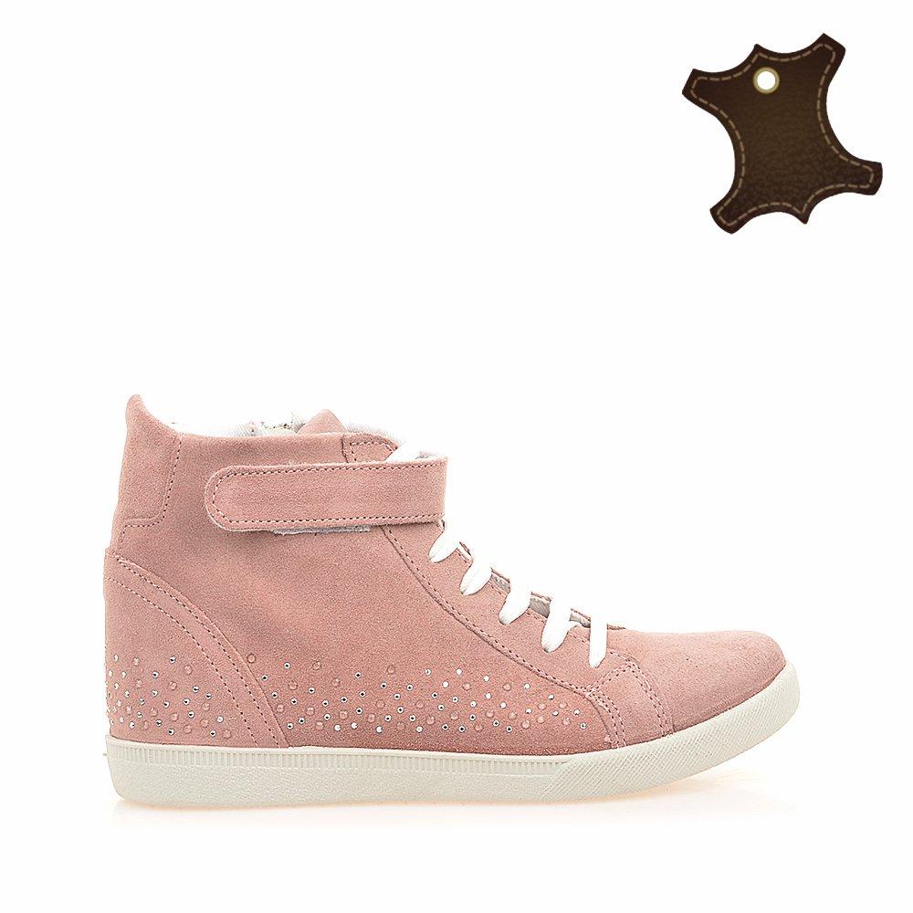 Pantofi sport copii piele IT-PSC001 roz