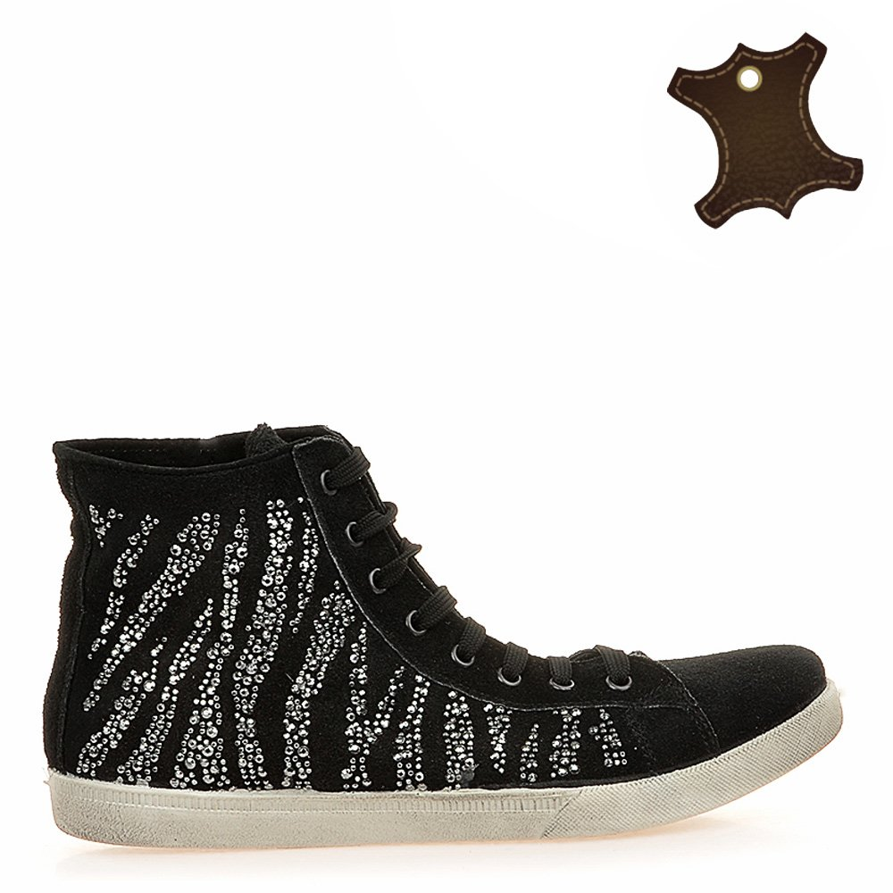 Pantofi Sport Dama Piele It-psd009 Negri