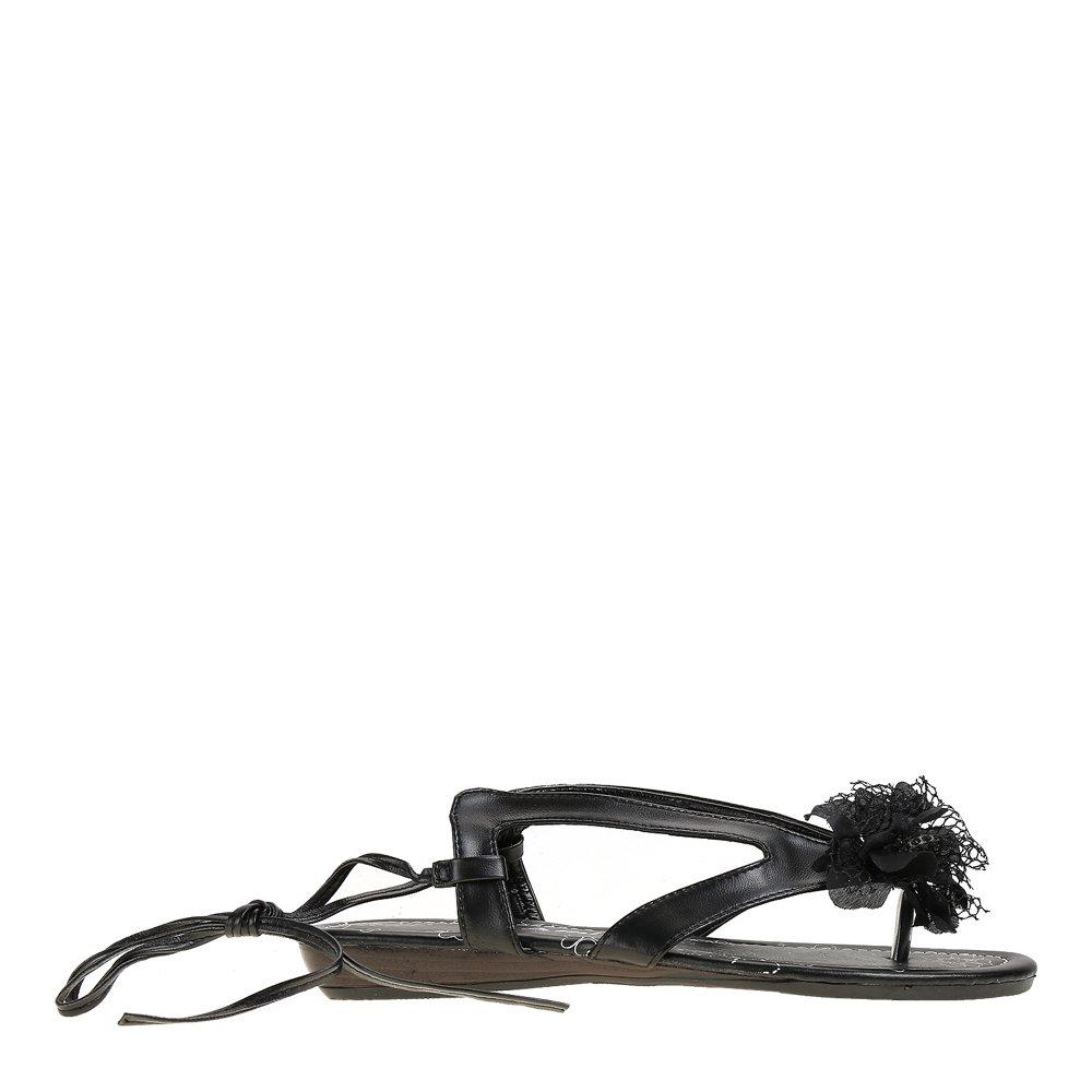 Sandale negre dama