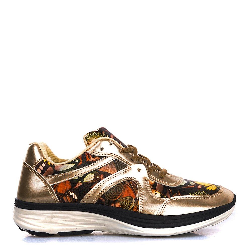 Pantofi Sport Dama Flora Aurii