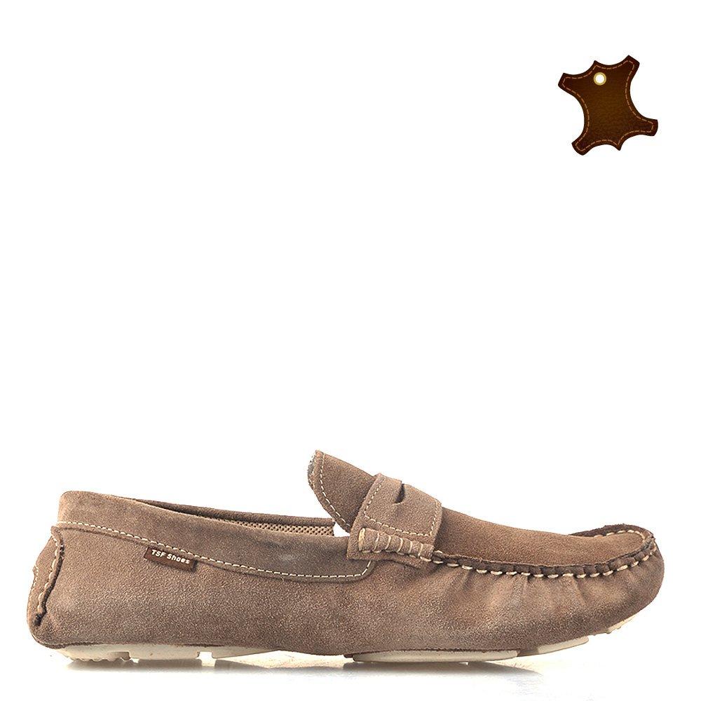 Pantofi barbati piele Alex camel