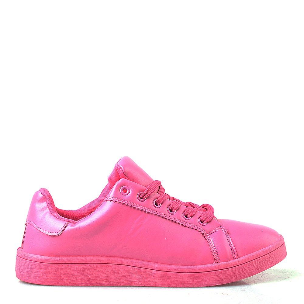Pantofi sport dama Rebecca fucsia
