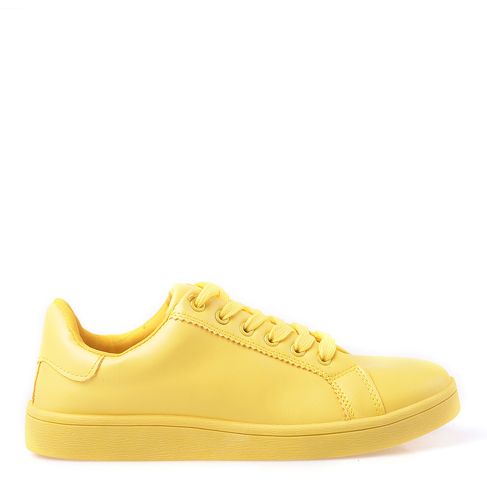 Pantofi sport dama Rebecca galbeni