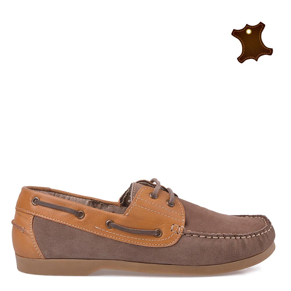 Pantofi Barbati Piele Jayden Galbeni