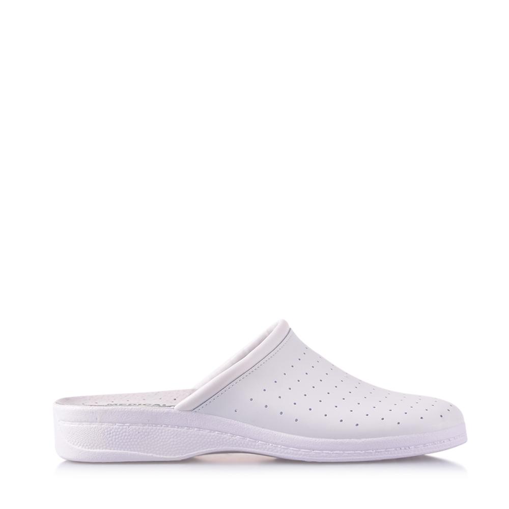 Papuci barbati PC5002 albi