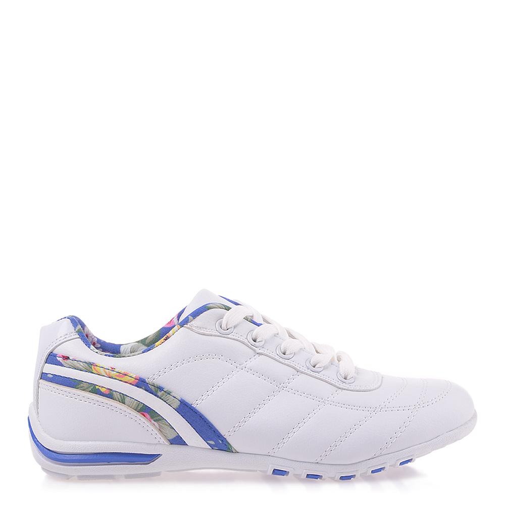 Pantofi Sport Dama Leticia Albi Cu Bleu
