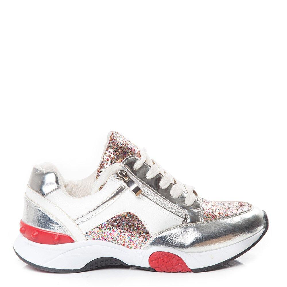 Pantofi sport dama Missy 2 argintii