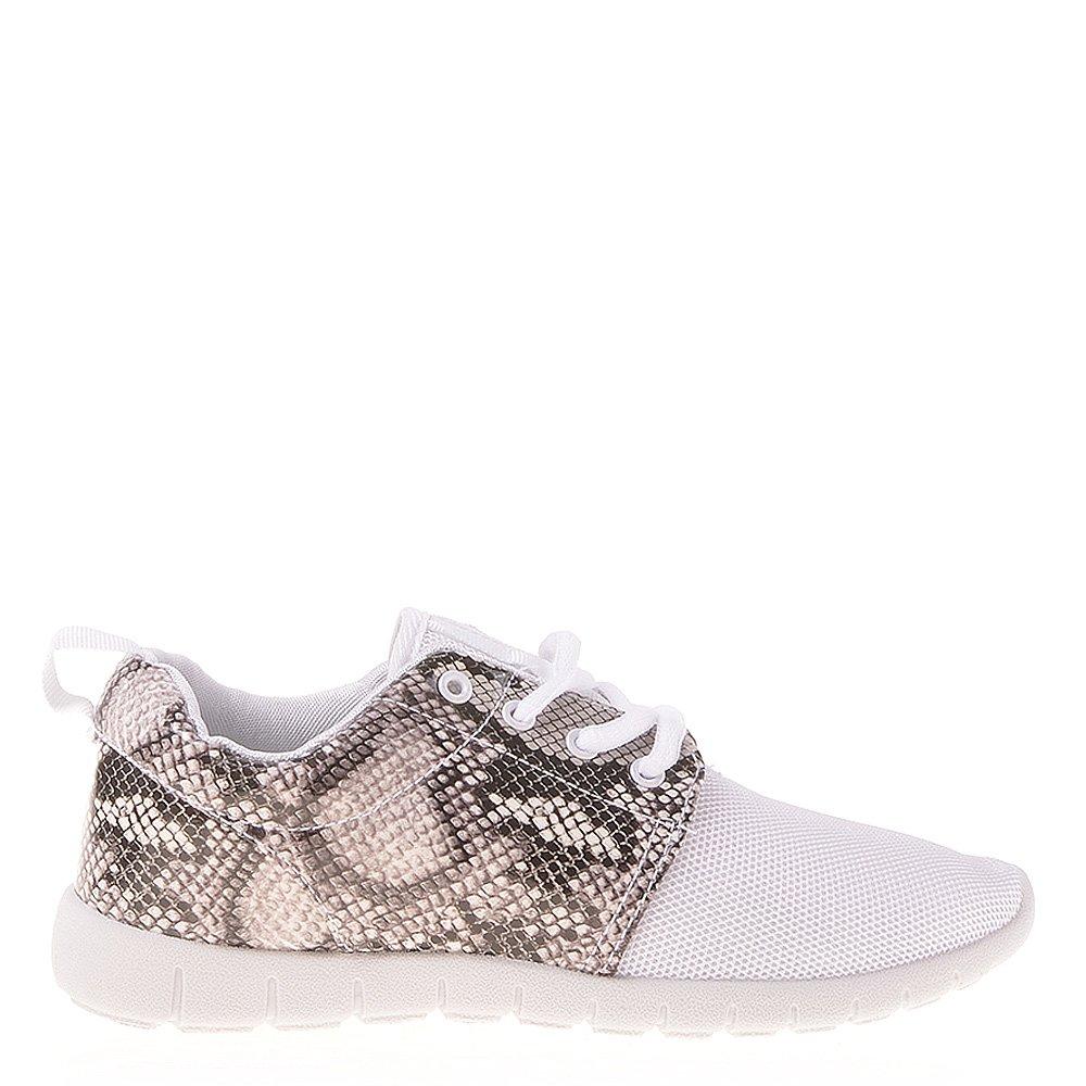 Pantofi sport dama Tiffany albi