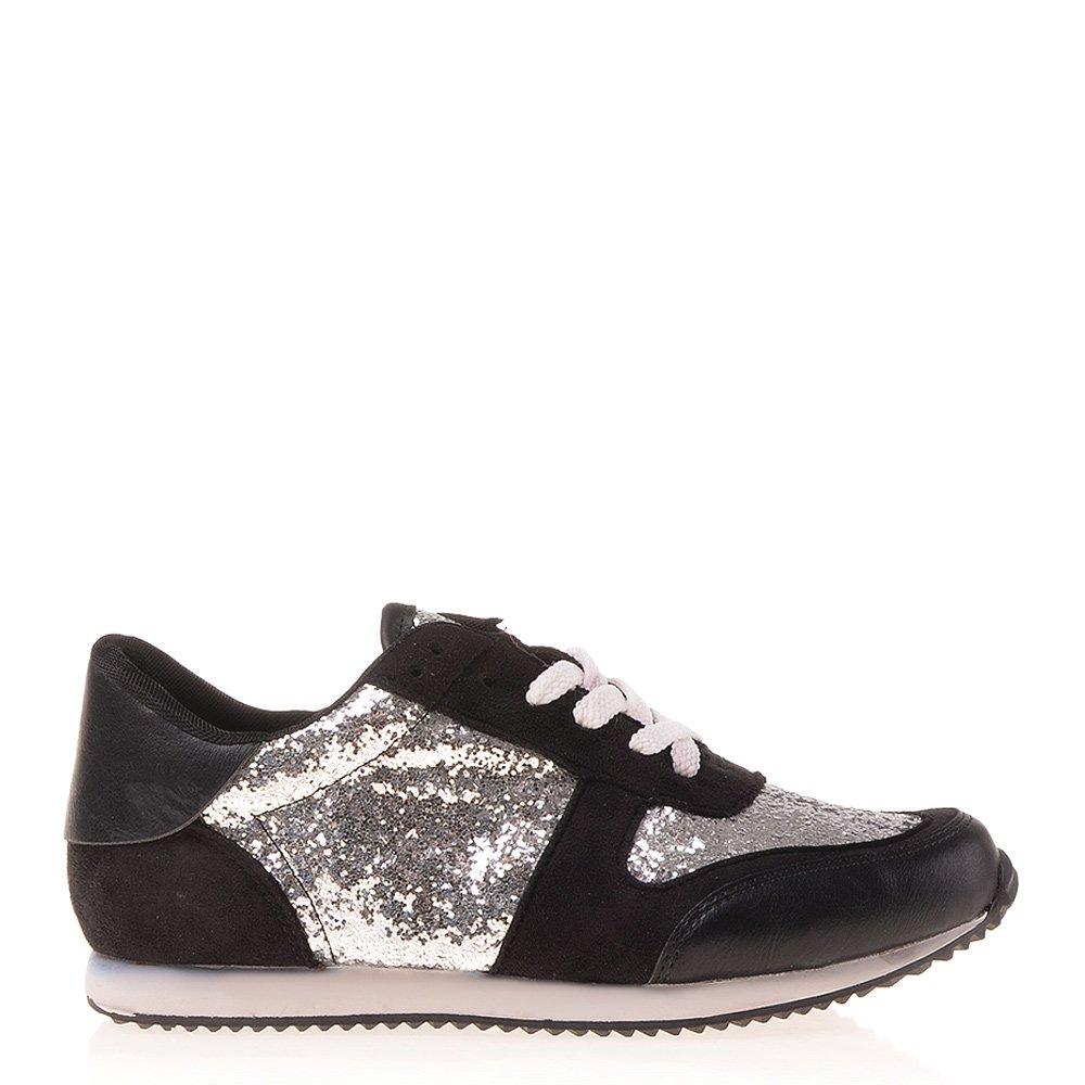 Pantofi sport dama Rowena argintii