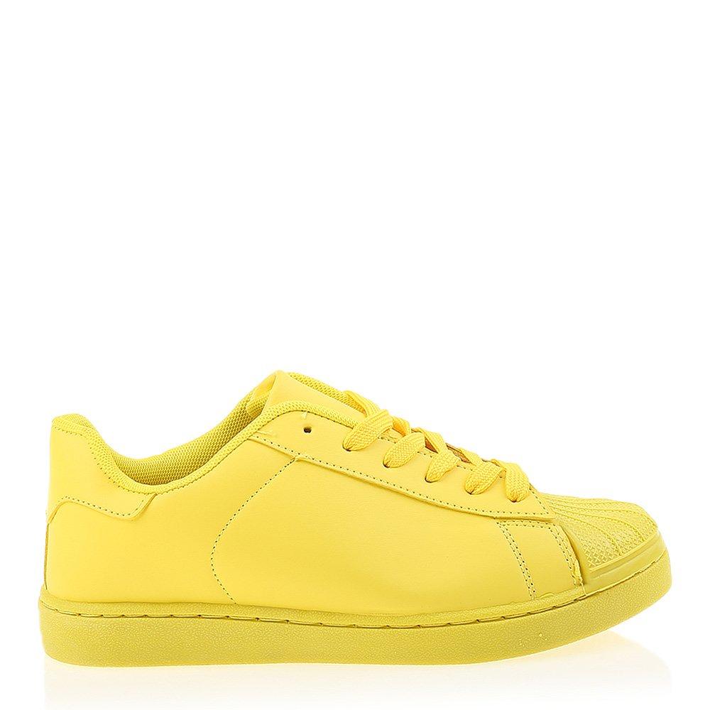 Pantofi sport dama Dorinda galbeni