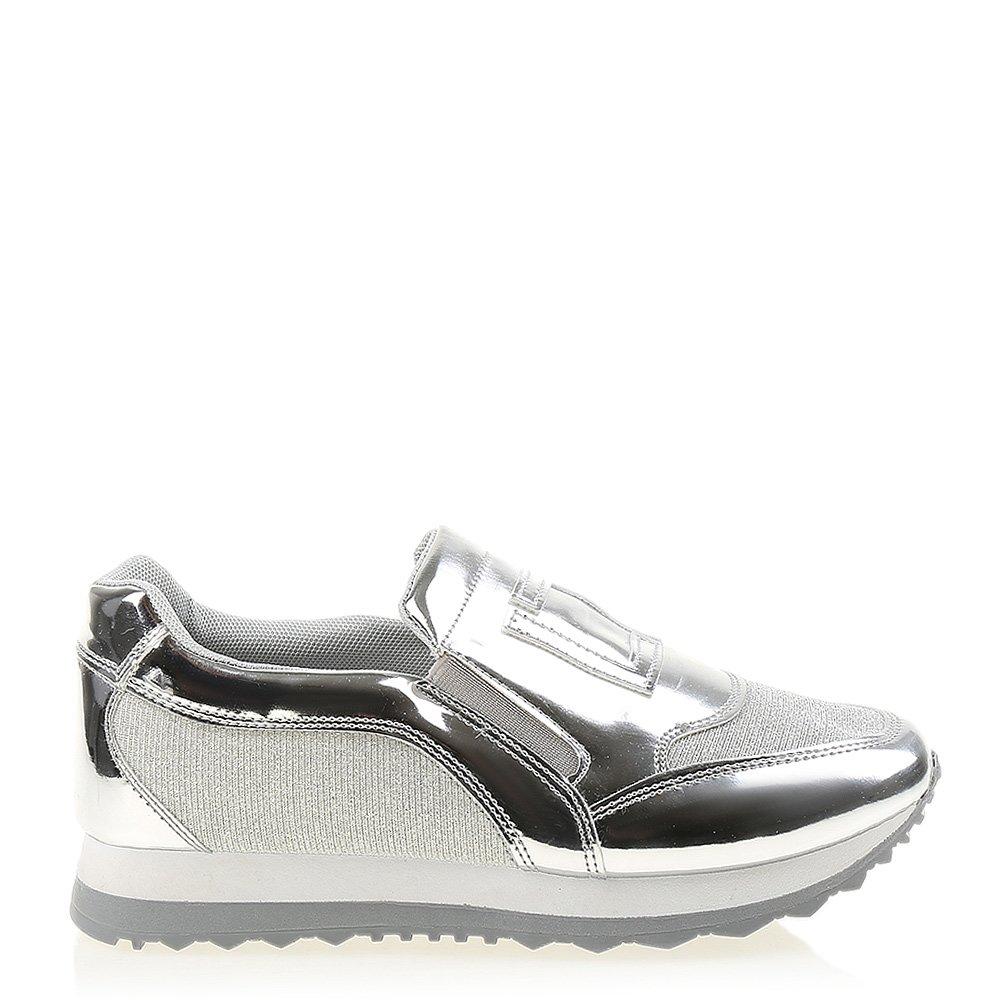 Pantofi sport dama Rydel argintii