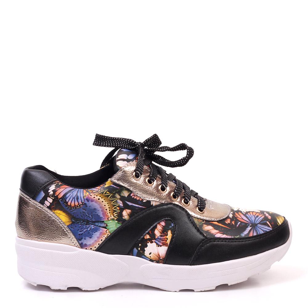 Pantofi sport dama Yeza negri