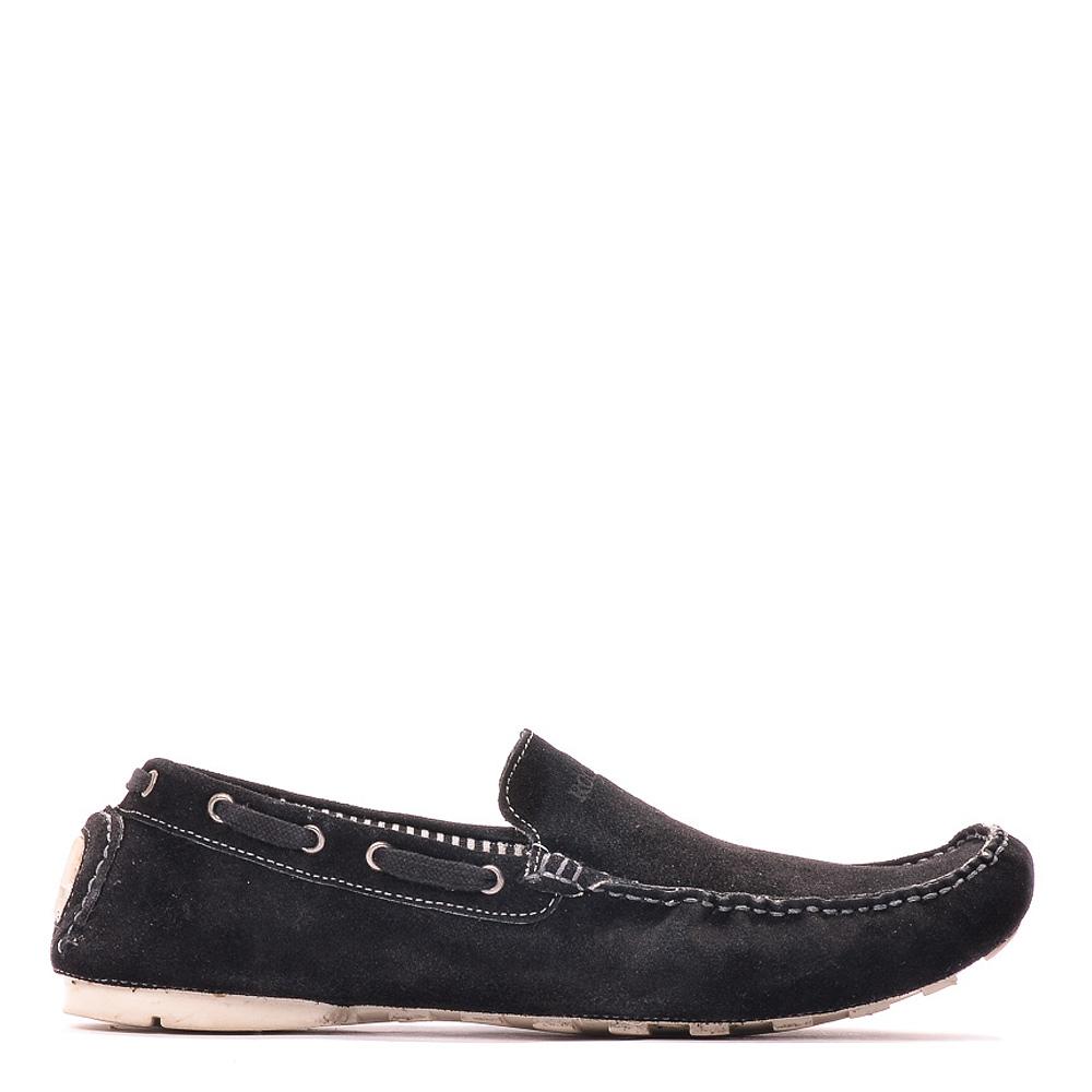 Pantofi Barbati Piele Obrien Negri