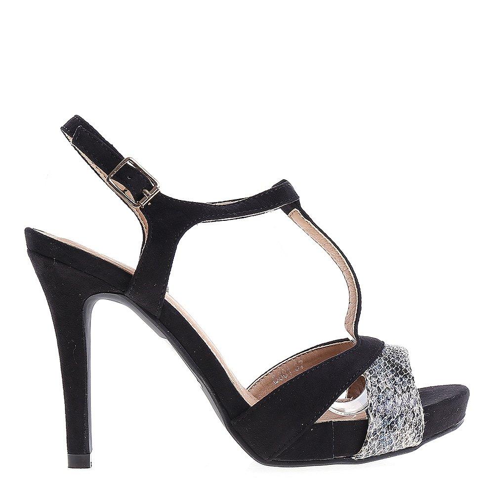 Sandale dama Raina negre