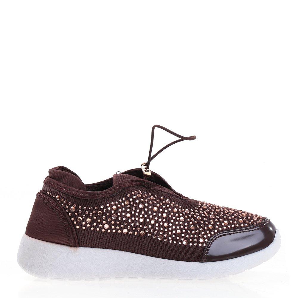 Pantofi sport dama Brenda maro