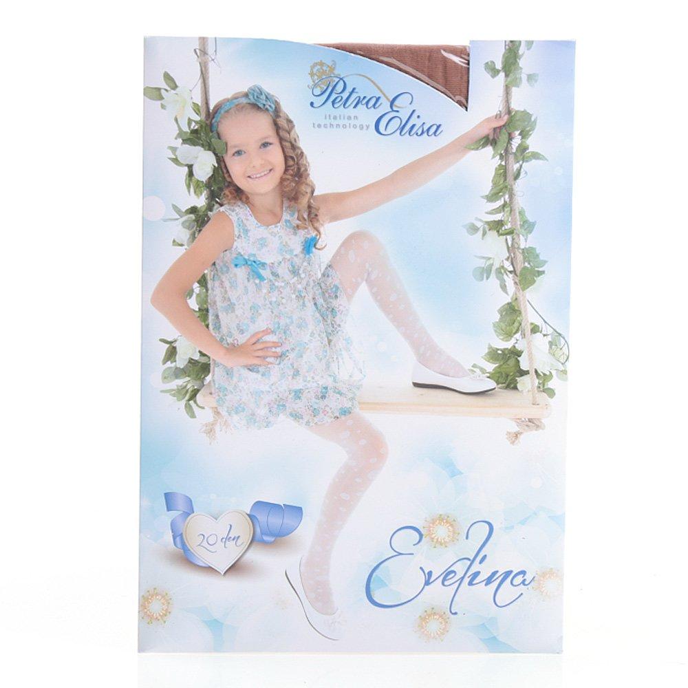 Ciorapi pantalon cu model pentru copiii Evelina 20DEN gazelle