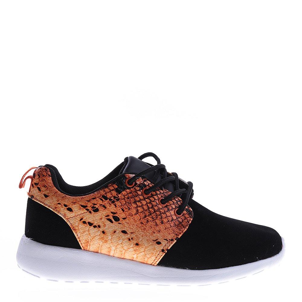Pantofi sport unisex 256-2A portocalii