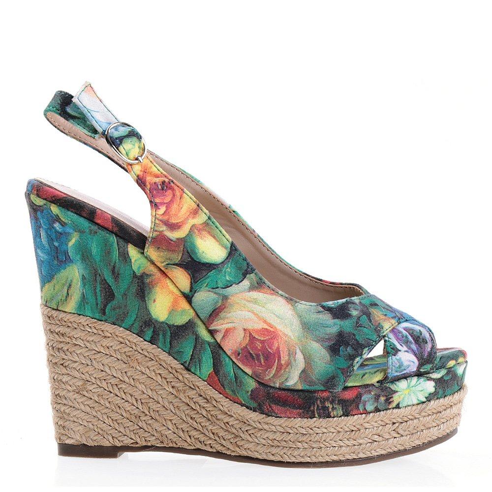 Sandale dama Myrna verzi