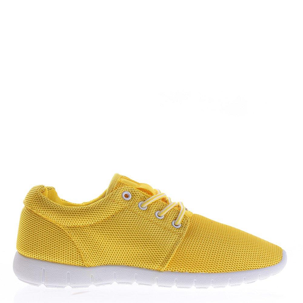 Pantofi sport dama Colette galbeni