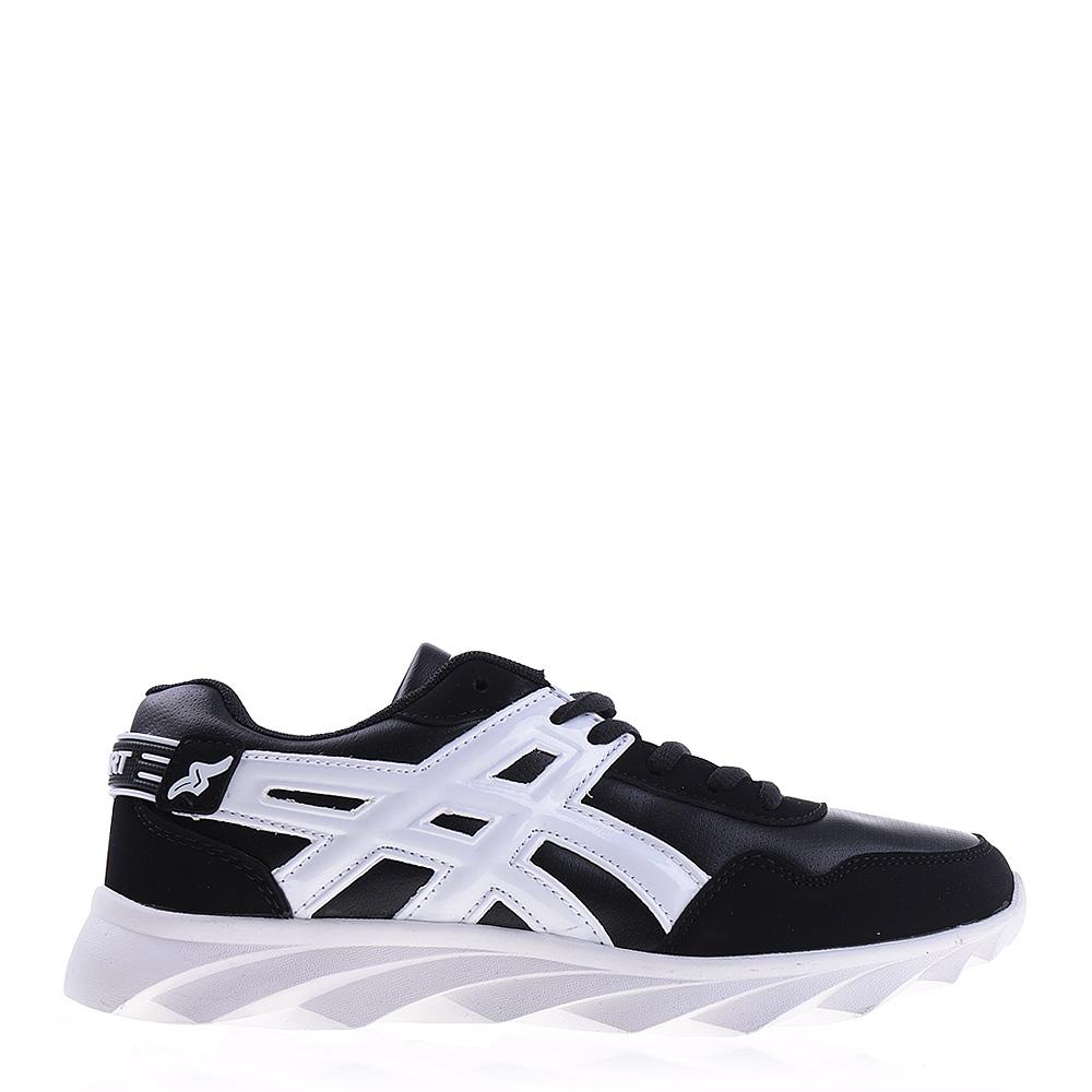 Pantofi sport unisex B92 negri cu alb