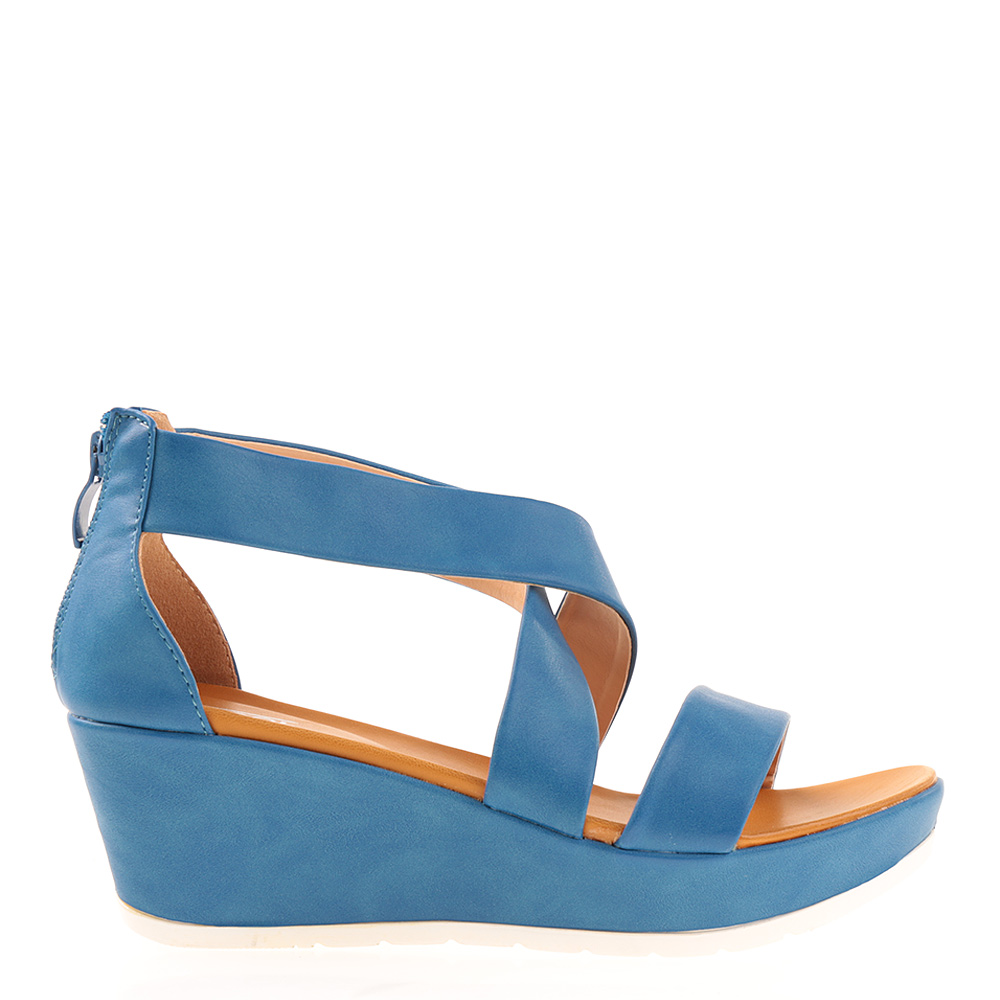 Sandale dama Norma albastre