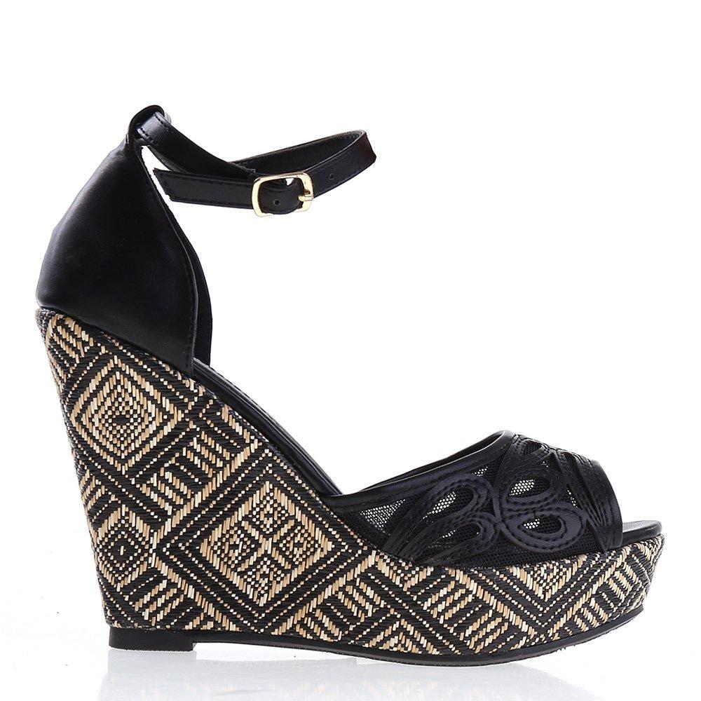 Sandale Dama Nancy Negre
