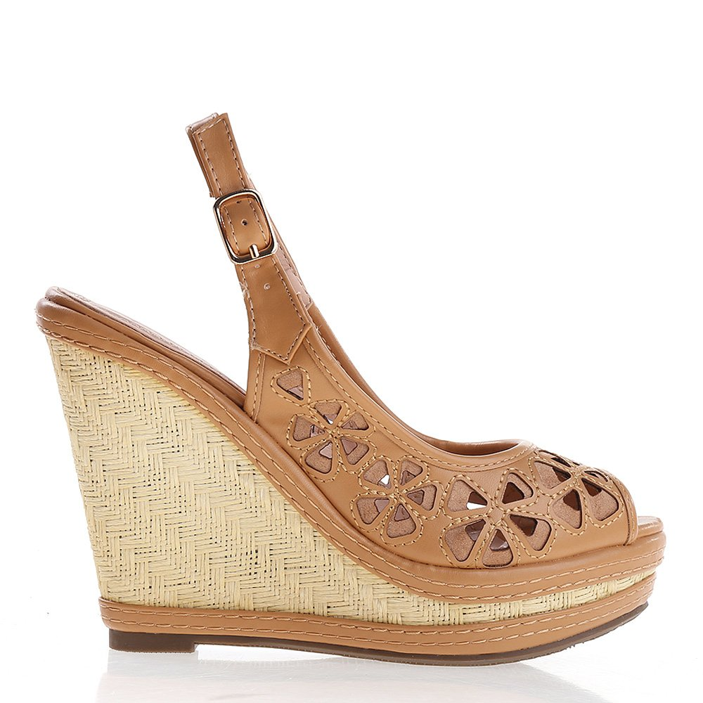 Sandale Dama Sheila Camel
