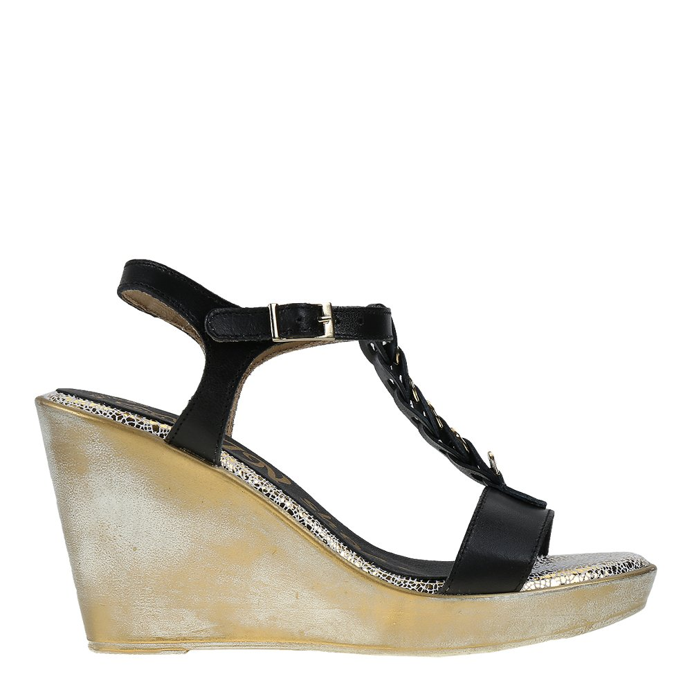 Sandale dama piele Odalis negre