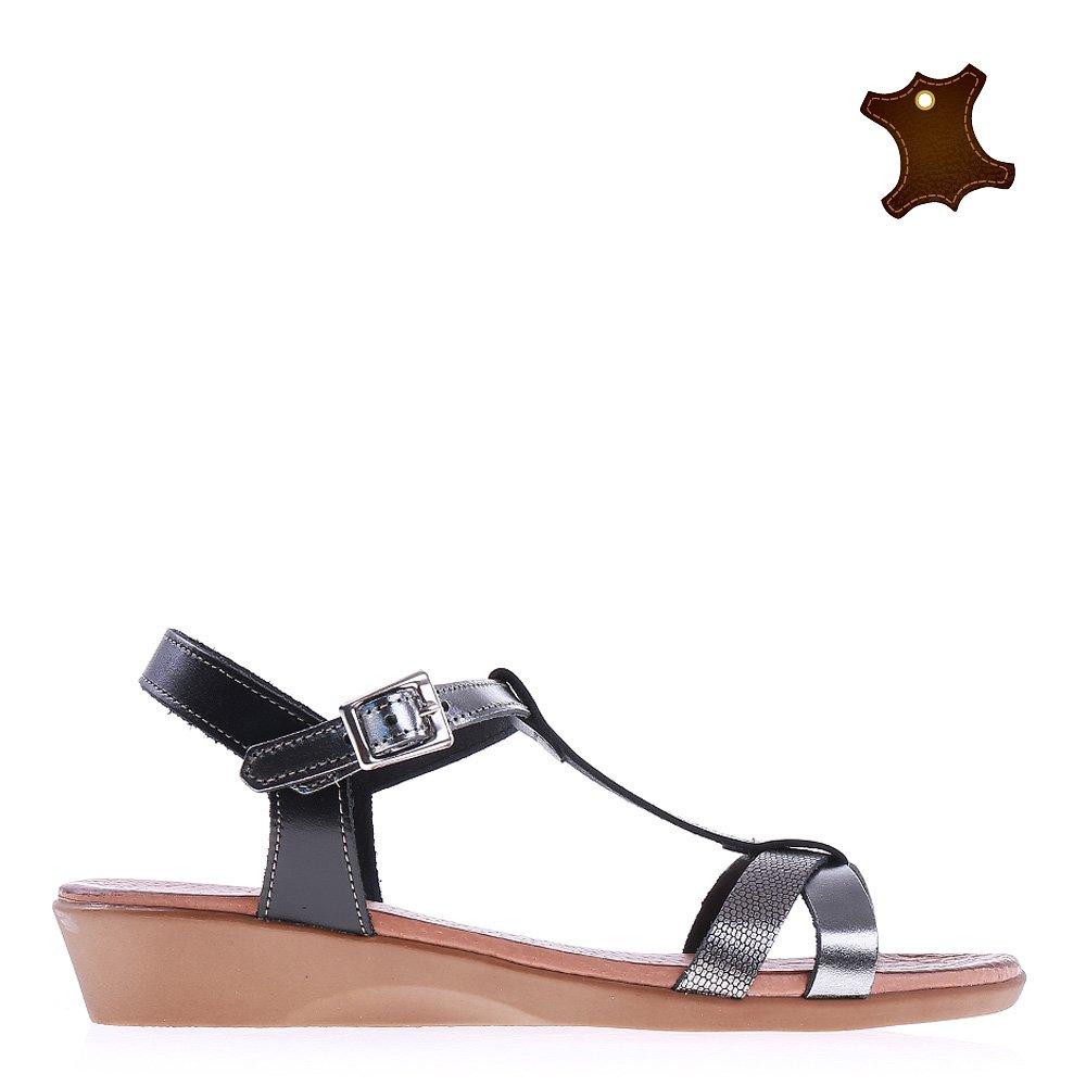 Sandale dama piele Rosita negre