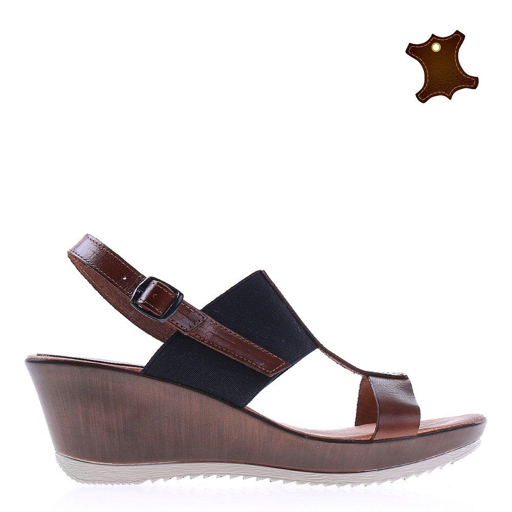 Sandale Dama Piele Loraine Albastre