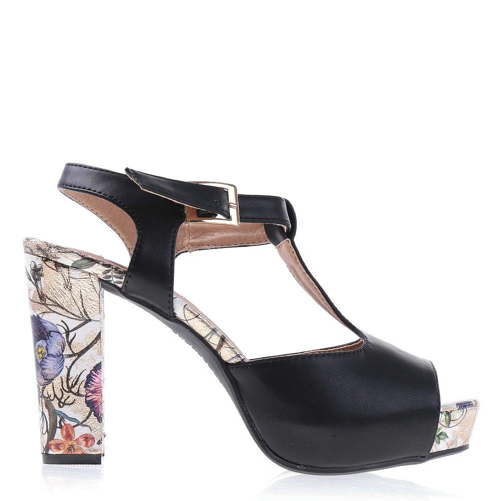 Sandale Dama Claudette Negre