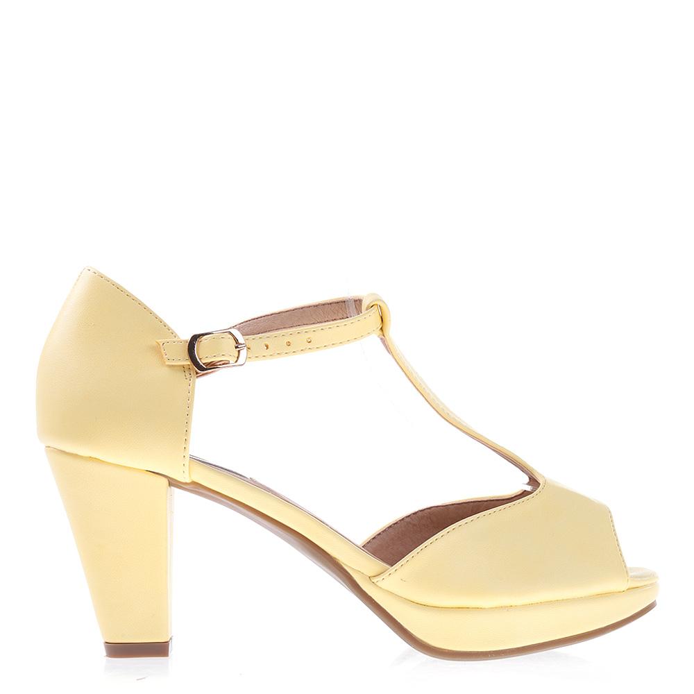 Sandale Dama Beegle Galbene