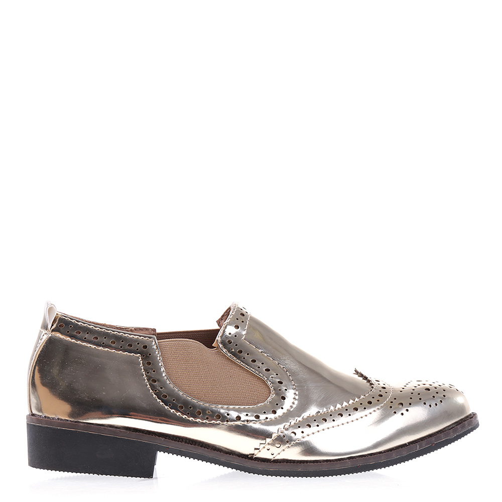 Pantofi dama Mattie aurii
