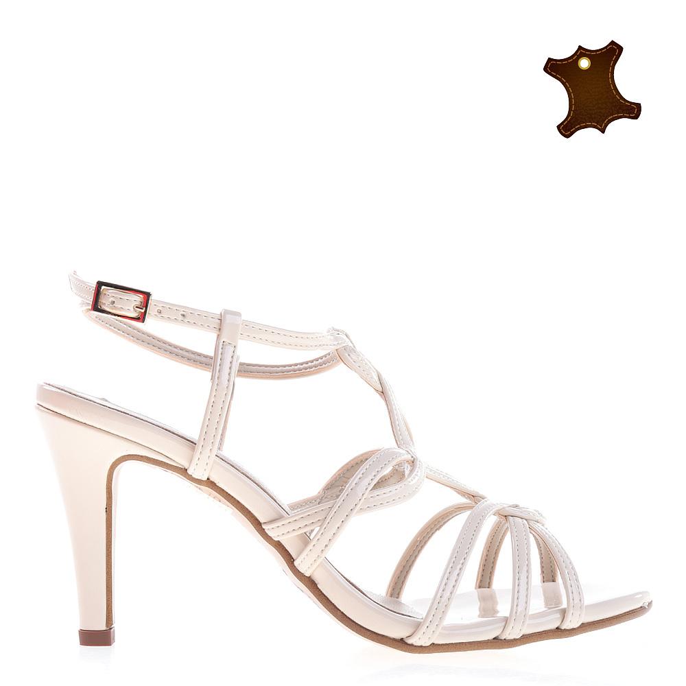 Sandale Dama Piele Wallis Bej
