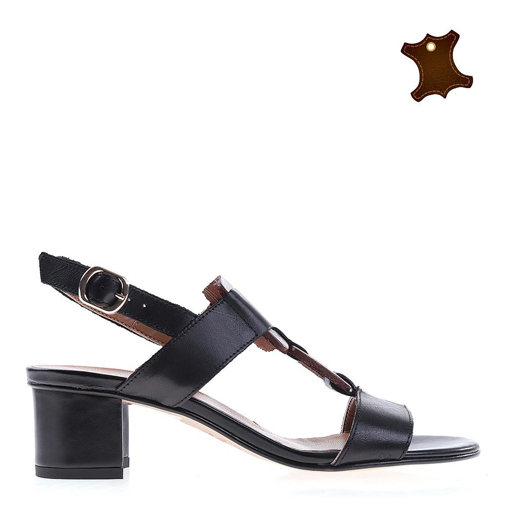Sandale dama piele Carley negre