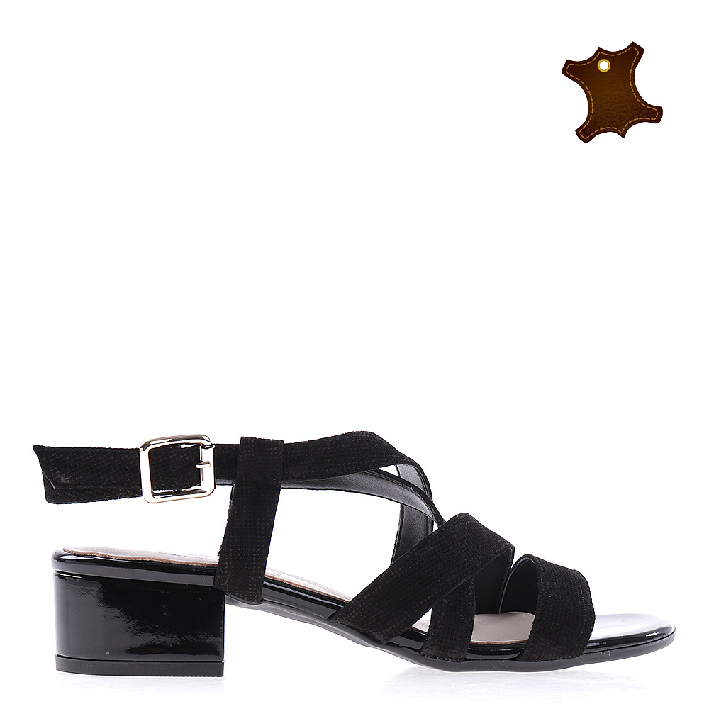 Sandale dama piele Anya negre