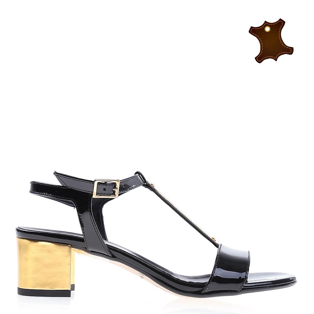 Sandale dama piele Norah negre