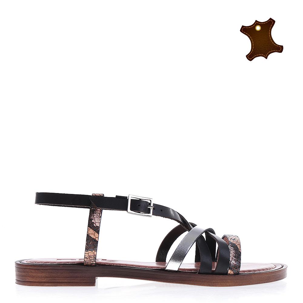 Sandale dama piele Primrose maro