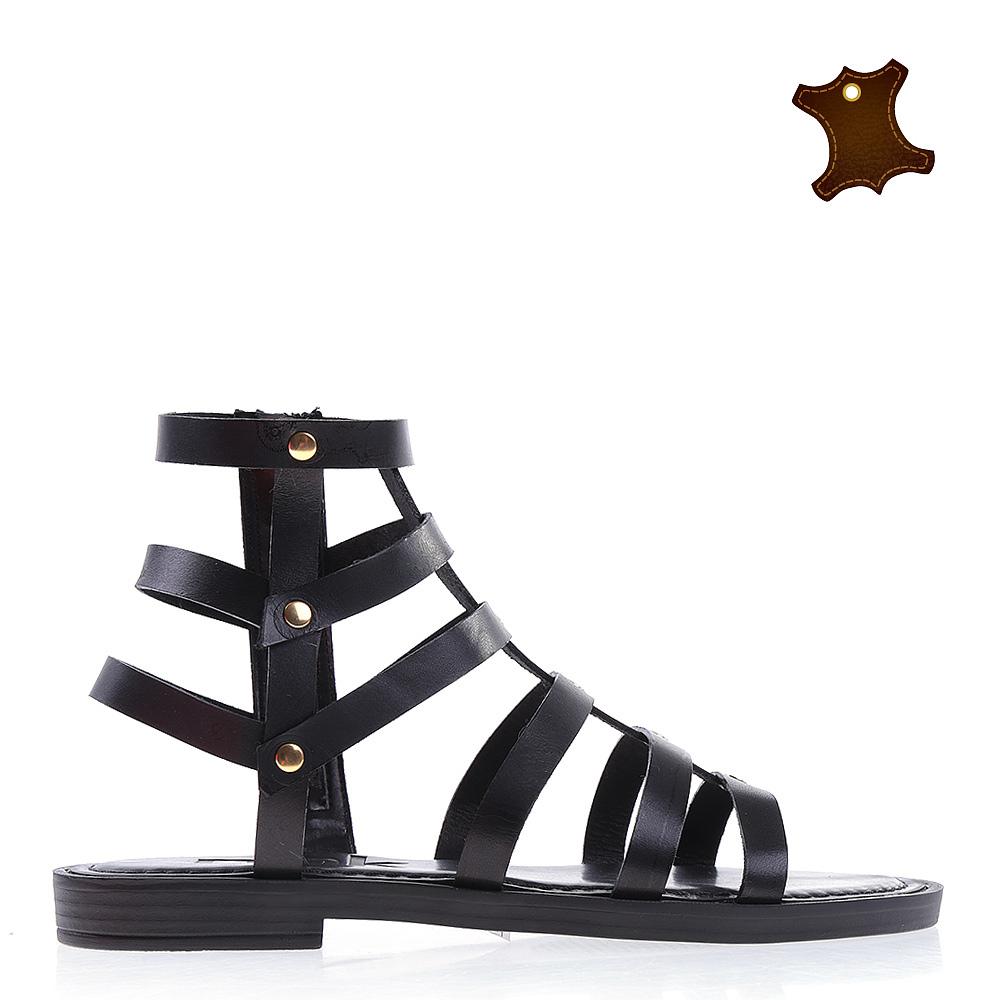 Sandale dama piele Bethan negre