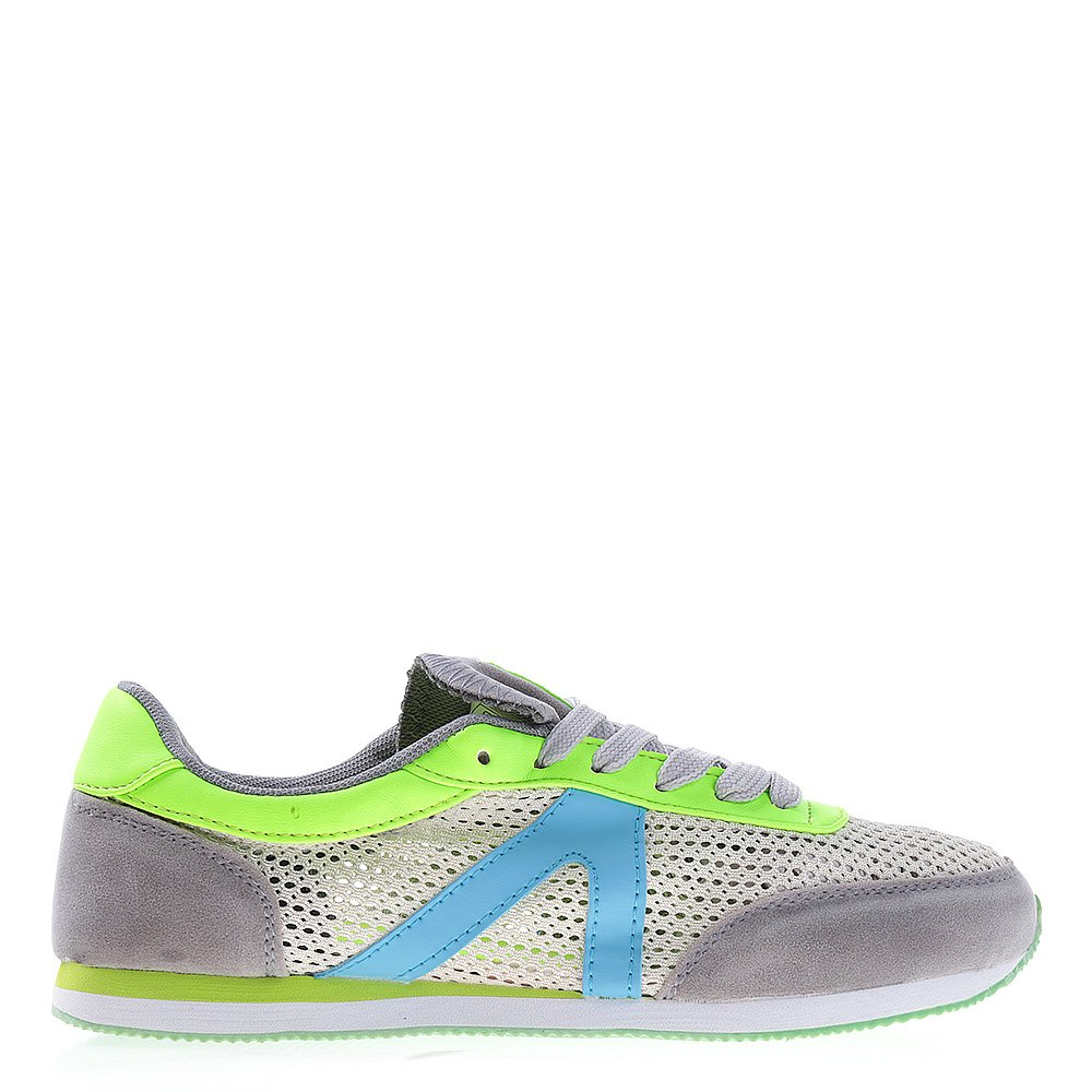 Pantofi sport dama RC gri cu verde