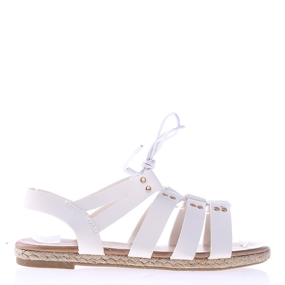 Sandale dama Joselyn albe