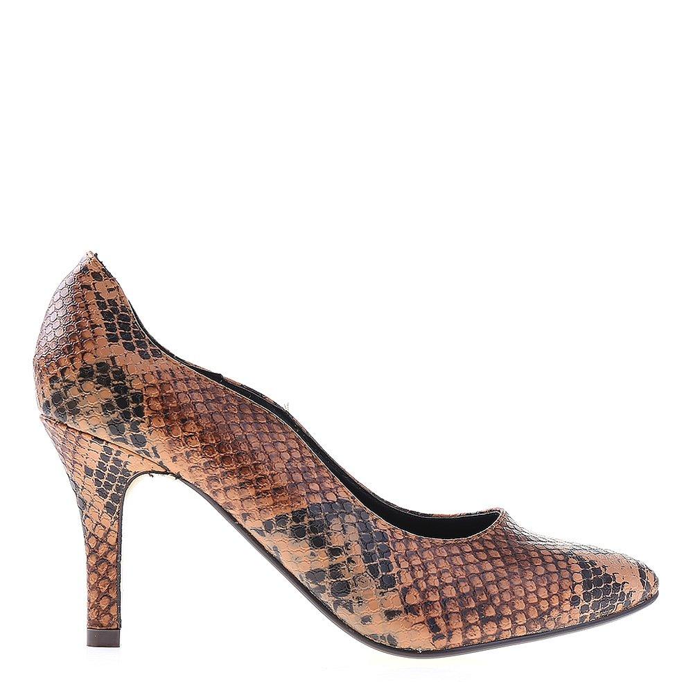 Pantofi Dama Clara Camel