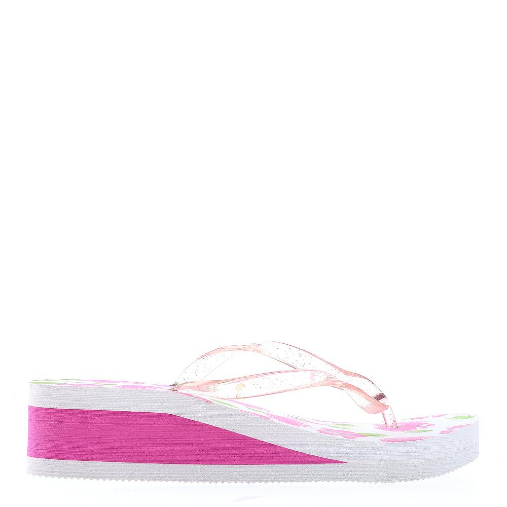 Papuci dama A800 fucsia