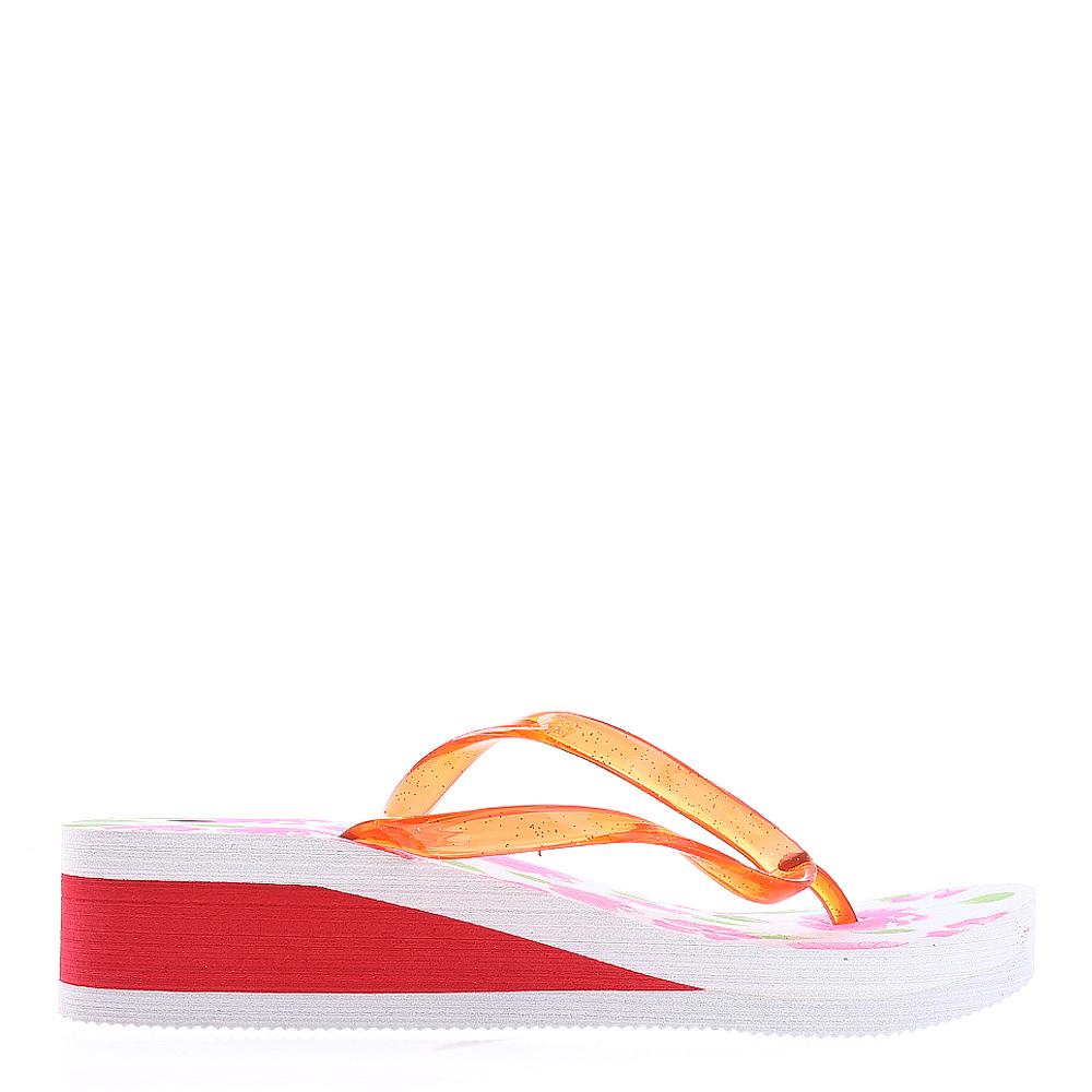 Papuci dama A800 rosii