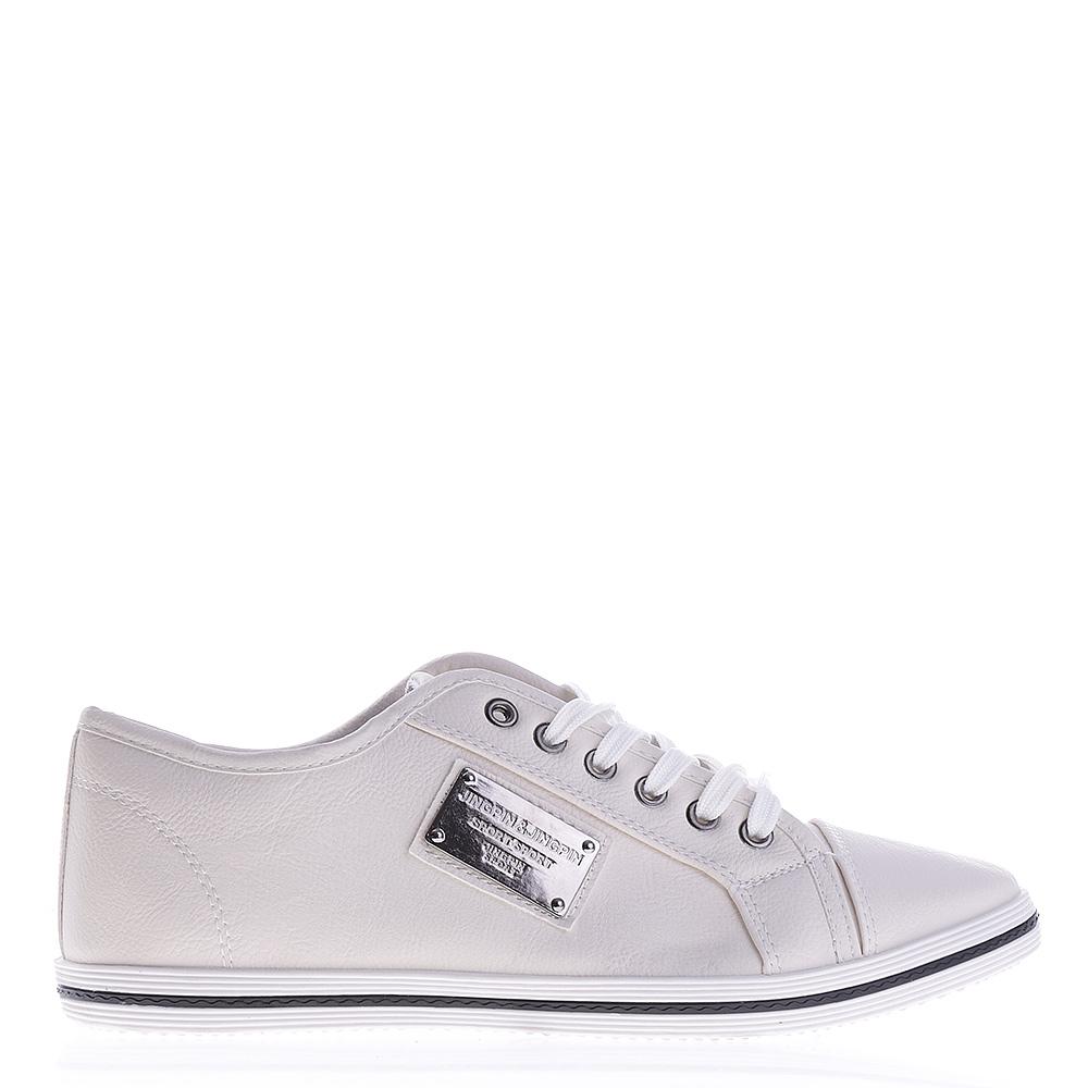 Pantofi sport barbati BK75 albi