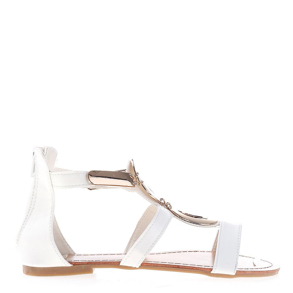 Sandale Dama Mina Albe