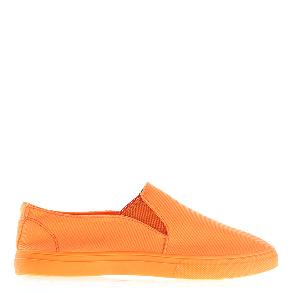 Espadrile dama Soto portocaliu neon