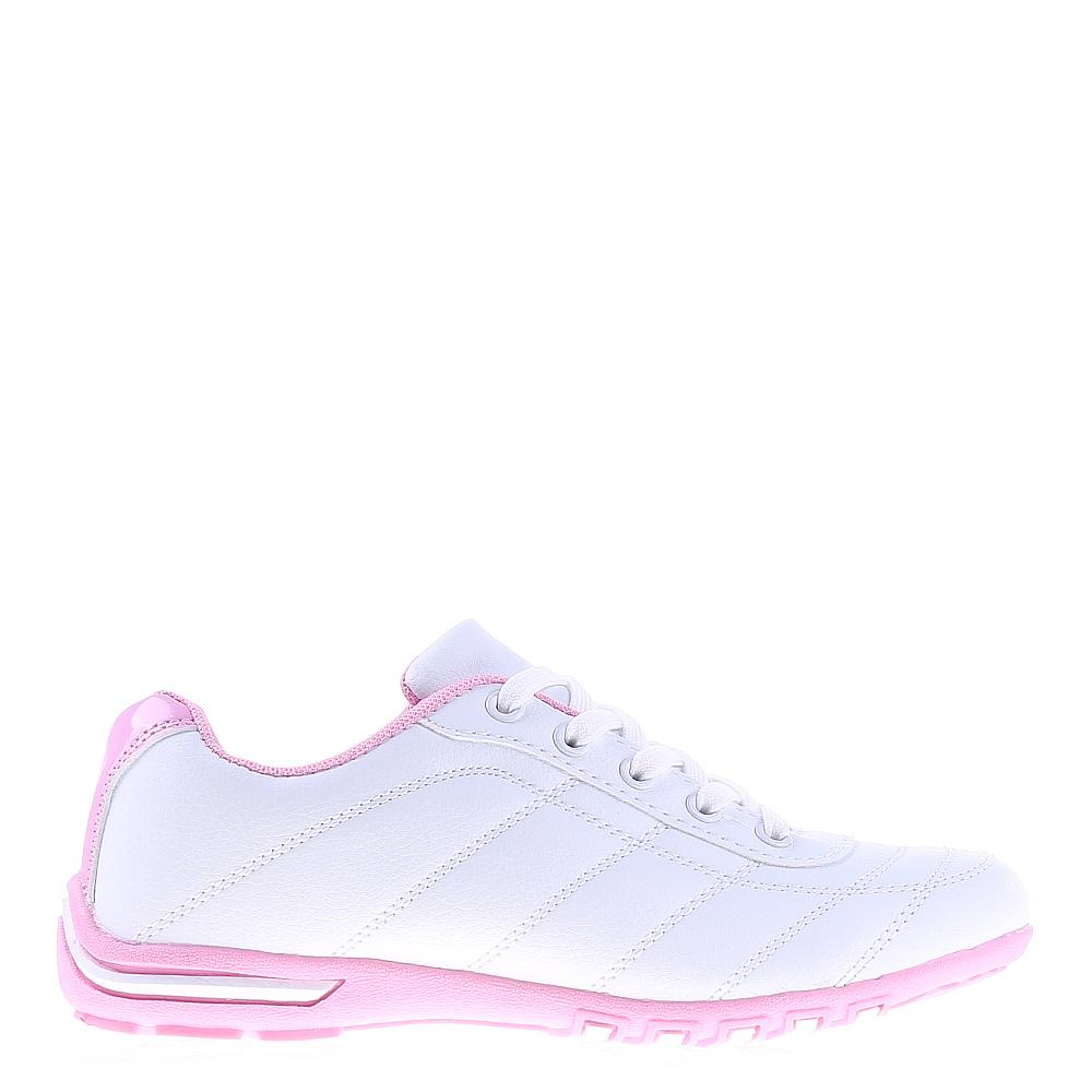 Pantofi sport dama Belles albi cu roz