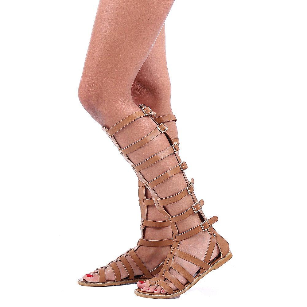 Sandale Dama Riley Camel